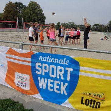 Nationale Sportweek programma dinsdag