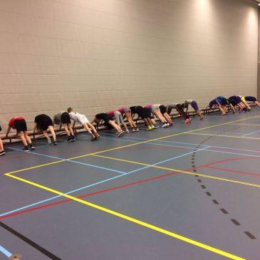 Teambuilding en bootcamp in Burgum